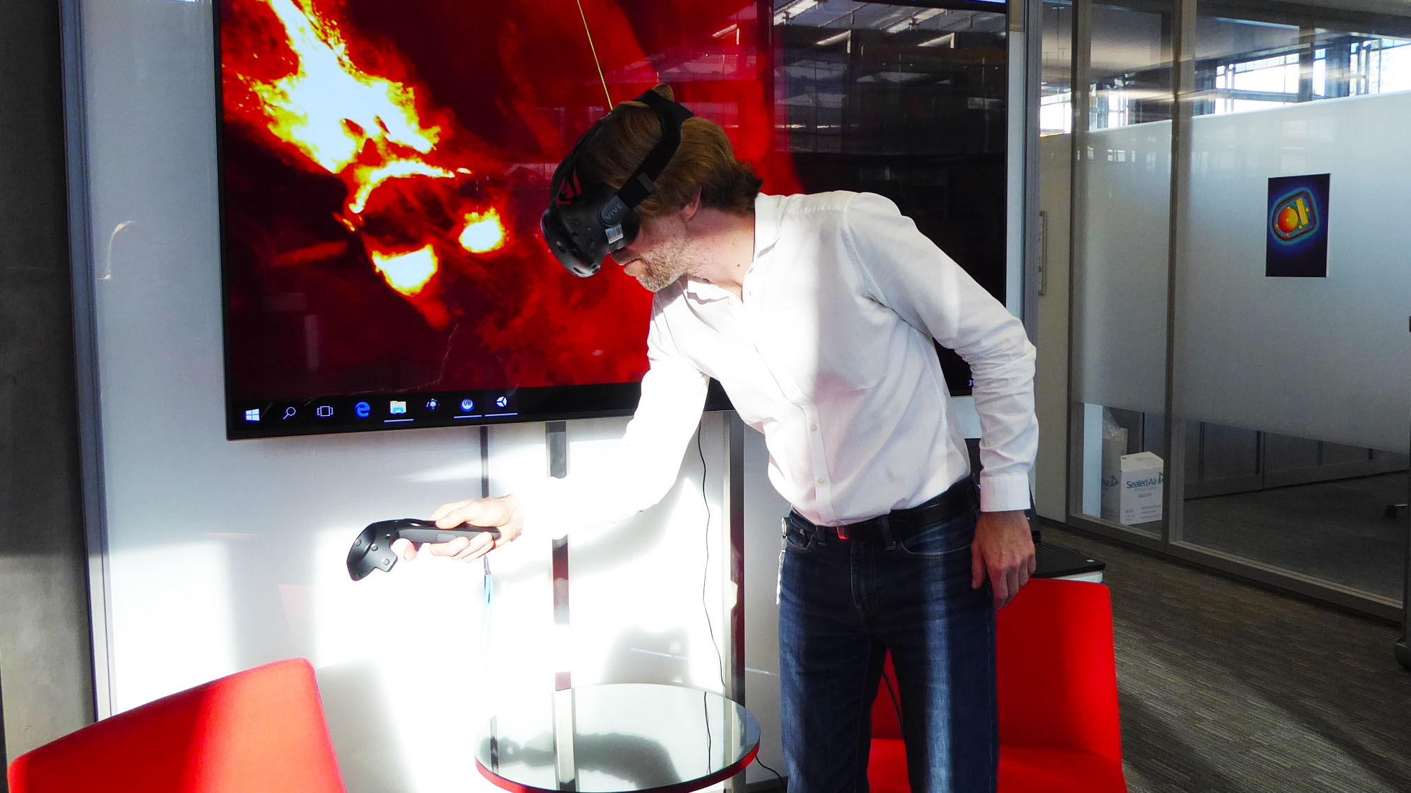 Un nuevo sistema de realidad virtual permite recorrer el cerebro a ...