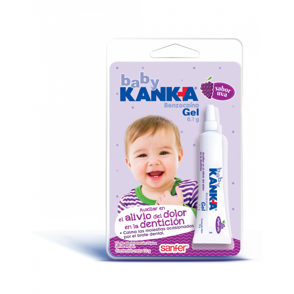 Baby Kanka para la dentición con benzocaína
