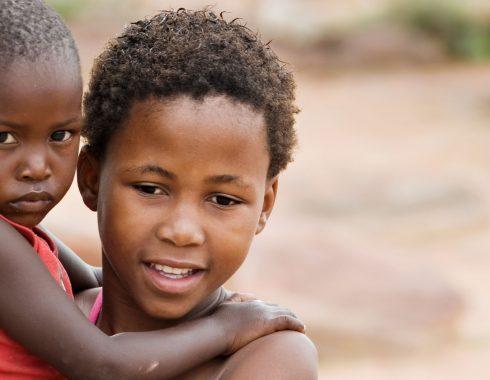 Desnutrición niños Africa
