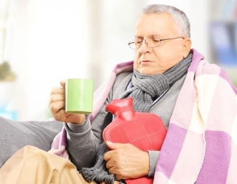 Síntomas en pacientes con influenza