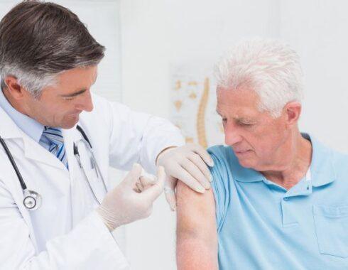 Corta duración de la vacuna contra la gripe