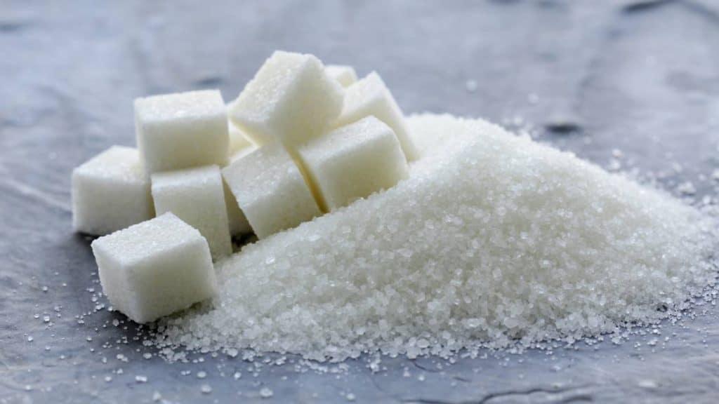 ingesta excesiva de azúcar
