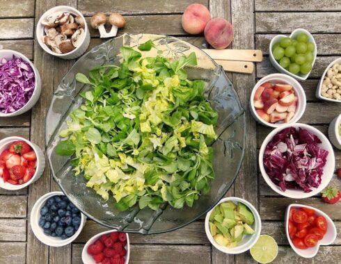dieta y microbios en el intestino