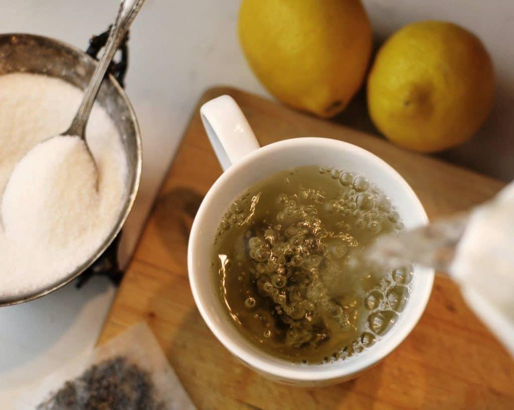 Beneficios del té de palo azul