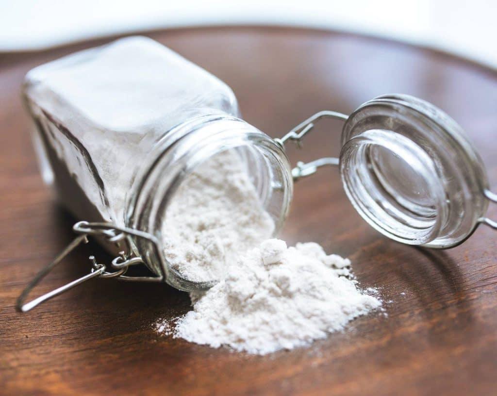 agua con bicarbonato de sodio